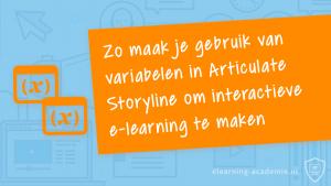 Articulate Storyline variabelen